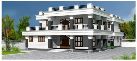 Evens Construction 3D House plan designs